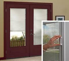 Blinds Between The Glass Premium Vinyl Sliding Patio Door Jeld Wen Windows U0026 Doors