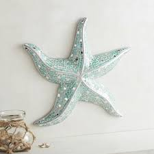 Sparkle Wall Decor Mosaic Starfish Wall Decor Pier 1 Imports