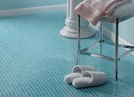 glass mosaic floor tile from hakatai