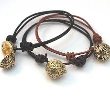 gold string bracelet images Leather friendship bracelet with gold locket by bish bosh becca jpg