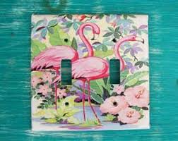 Flamingo Bathroom Pink Flamingo Bathroom Decor Set Toothbrush Holder Dish