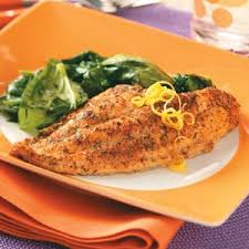Catfish Dinner Ideas Baked Herb Catfish Recipe Taste Of Home