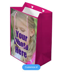 personalized gift bags digiwrap digiwrap gift bags on zazzle get 5 reviews