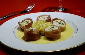 Challenge With Sauce Scallops In Beurre Blanc Sauce With Prosciutto