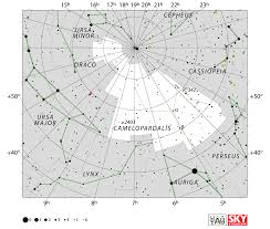 Star Maps Camelopardalis Constellation Facts Myth Star Map Major Stars