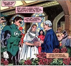 green lantern wedding ring image marriage of green lantern and kari limbo jpg dc database