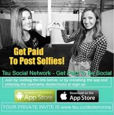 Social Network Meme - get paid to post selfies and coolpics selfie meme tsu
