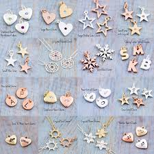 design your own necklace design your own chunky letter necklace by j s jewellery