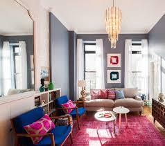 eclectic look living room design