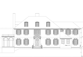 home drawing renovation and addition to historic druid hills home the