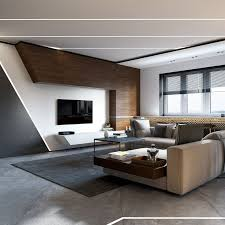 livingroom interiors a project in minimalist style on behance 家居