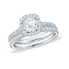 wedding ring big big 2 carat diamond halo wedding ring set in 18k white gold