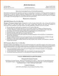Resume Profile Examples For Customer Service Customer Service Call Center Resume Sample Resume Template And