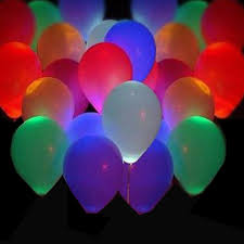 glow in the balloons 50pcs led flash balloons illuminated led balloon glow in the