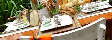 get crafty with a u0027wild u0027 welcome display for a safari baby shower