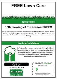 Door Hanger Design Ideas Make Your Own Flyer Or Door Hanger Online Gopherhaul Landscaping