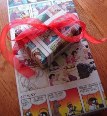 gift wrap ideas recycled materials