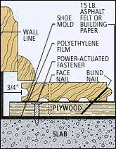 hardwood flooring radiant heated concrete ask the