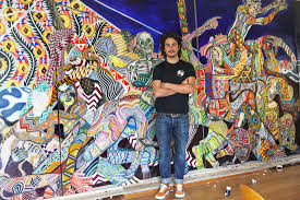 mill valley artist zio ziegler to paint mural on sequoia theatre picture