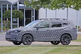 Subaru Three Row 2019 Subaru Forester Spied Testing On Public Roads Autoguide Com