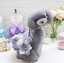 dog wedding dress luxury dog wedding dress summer pet clothes tutu dresses skirt