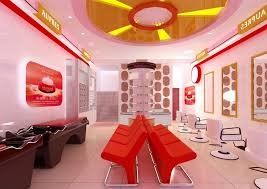 Hair Salon Interior Design Ideas by Decorating Attractive Interior Colors For A Hair Salon Modern