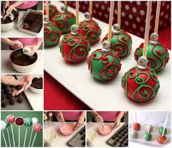 ornament cake balls recipe cake recipes