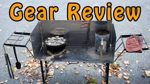 lodge dutch oven table gear review chuck wagon supply dutch oven cooking table youtube