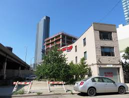 facade installation imminent at hyatt place hotel 27 07 43rd