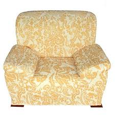 Gold Sectional Sofa Fashion Elastic Sofa Cover Gold Print Sectional Sofa