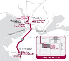 Bart Lines Map by Soltrans Route 80 82 U2013 I 80 Express