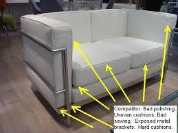 lc2 sofa lc2 petit sofa gibraltar furniture design notes modern
