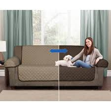 grey slipcover sofa sofas center ultimate pet furniture protectors with straps gray