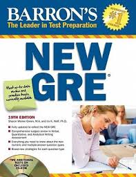 barron u0027s new gre the leader in test preparation with cd rom