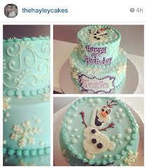 25 frozen themed birthday cake ideas elsa