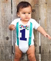 Cute Clothes For Babies Teal Blue Red Baby Boy First Birthday Birthday Shirt