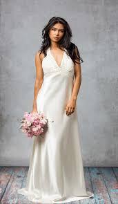 halter neck wedding dresses oleg cassini halter neck wedding gown lucille vintage