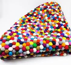 Wool Ball Rug Felt Ball Wool Felt Polyester Felt Wool U0026polyester Mixed Felt