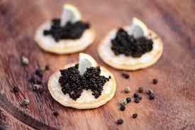 caviar recettes cuisine recette blinis au caviar et à la crème