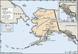 alaska major cities map alaska flag facts maps capital cities weather