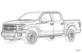Old Ford Truck Games - ford f150 pickup truck coloring page free printable coloring pages
