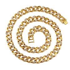 aliexpress buy nyuk mens 39 hip hop jewelry iced out aliexpress buy nyuk new fashion gold bling rhinestone cz