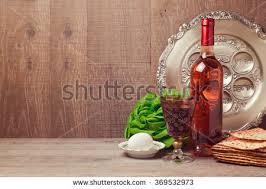 seder matzah passover background matzah seder plate wine stock photo 370558817