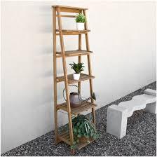 indoor plant shelf ideas oversized ladder style teak plant plant