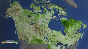 Map Of Canada And Alaska by Mapping The World Nasa