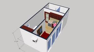 single shipping container house youtube