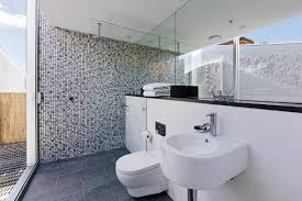 Gray Blue Bathroom Ideas Bathroom Fashionable White Porcelain Pedestal Sink Added Square