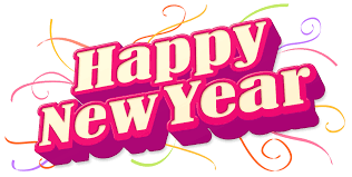 happy new year png transparent images free download clip art