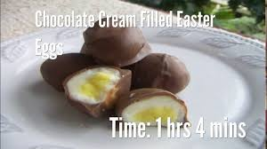 filled easter eggs chocolate filled easter eggs recipe