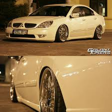 stanced mitsubishi galant images tagged with mitsubishigrunder on instagram